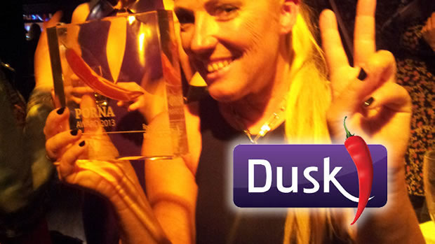 Petra Joy wins 2013 Porna Awards by Dusk TV