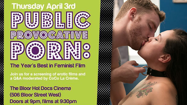Feminist Porn Awards Screening 2014 Public Provocative Porn