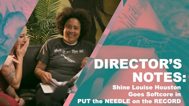 Shine Louise Houston PUT the NEEDLE on the RECORD