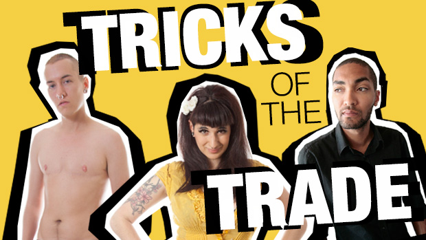 Tricks of the Trade article on Content Shares and Porn Performer and Producer Trades for Queer Feminist Indie Porn