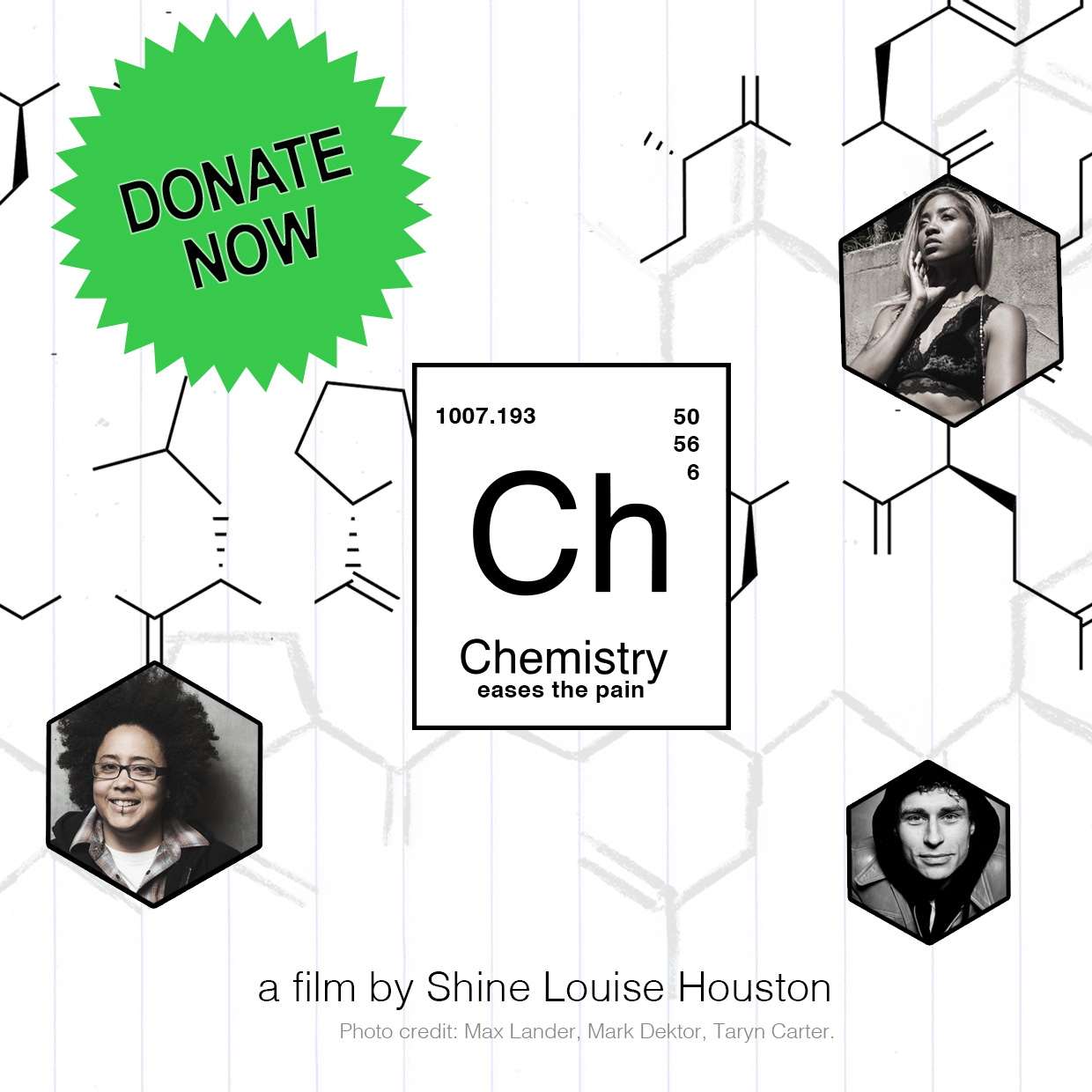 Donate to Chemistry Eases the Pain Film Fundraiser